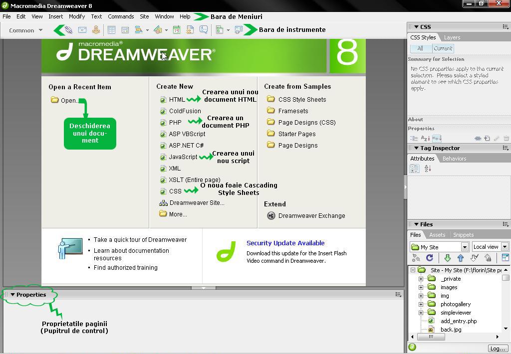 Macromedia dreamweaver 8 - это чрезвычайно популярный конструктор сайтов